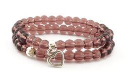 Amethyst heart- seria Be my Valentine