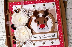 Kartka świąteczna eko w pudełku BNR 001