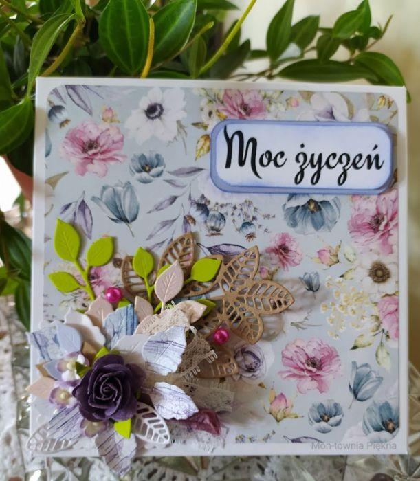 Kartka urodzinowa dla kobiety