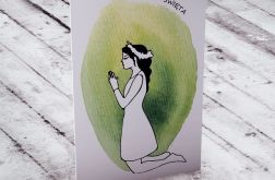 Karteczka z okazji Komunii Świętej