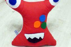 Przytulaśny Stworek Czerwony żabuś