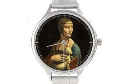 """Zegarek Art z bransoletą""""Dama z gronostajem"""""""