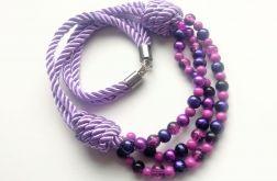 Naszyjnik/korale Purple Rain