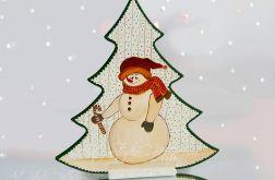"""Choinka Świąteczna """"Snowman"""""""
