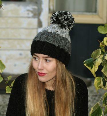 Zimowa czapka HiMalaya z poponem