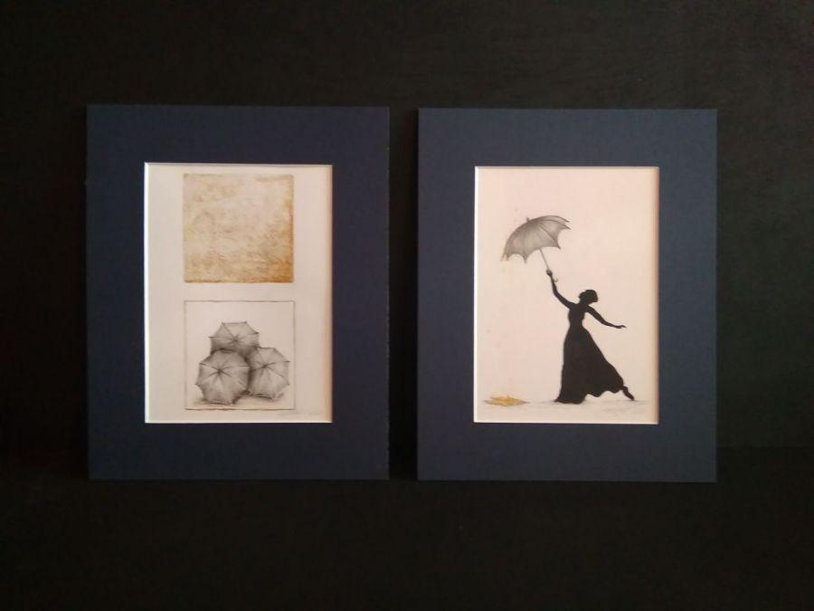 """Rysunek """"Parasolki"""""""