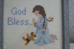 Boże Błogosław- obrazek