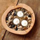 świecznik sosnowy wood-one