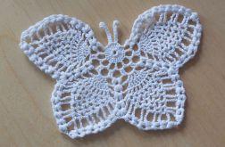 motyl szydełkowy