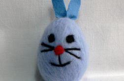 Filcowany królik (8cm) (01)