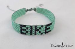 Bransoletka z koralików handmade - Bike