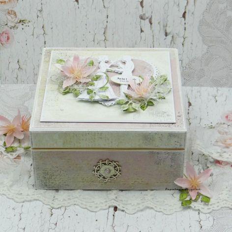 Pudełko ślubne - niezbędnik małżeński NM8