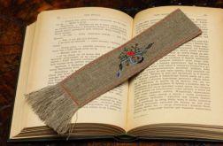 """zakładka do książki """"Z różą"""""""