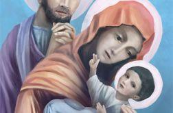 Obraz - Święta Rodzina - płótno