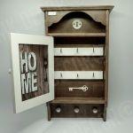 Duża szafka, domek na klucze retro HOME1 - na klucze