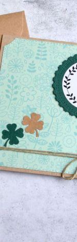 Good luck:: powodzenia:: kartka handmade