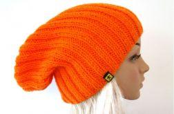 pomarańczowa czapka unisex
