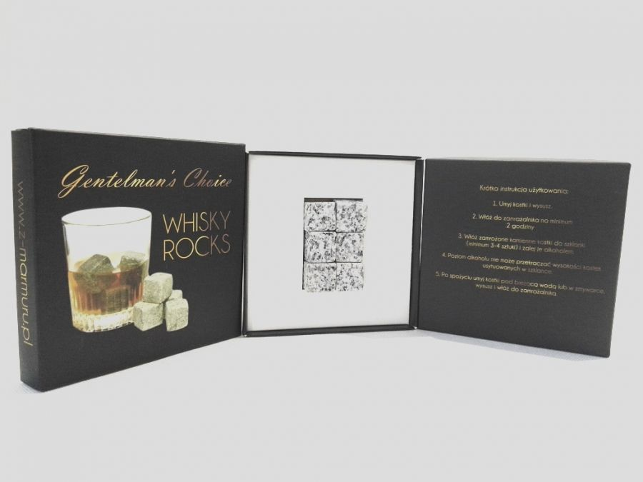 Whisky Stones pudełko - whisky stones pudełko z instrukcją