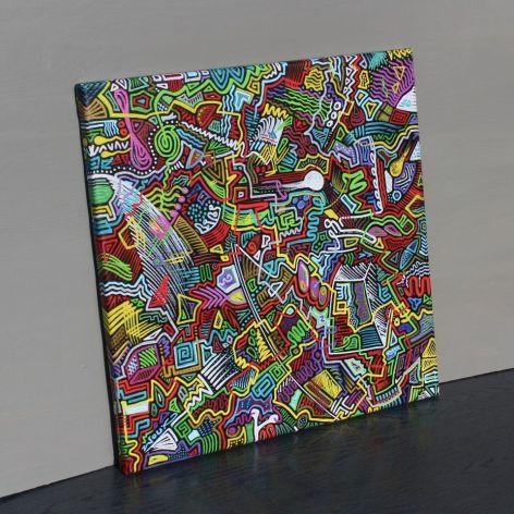 Obraz nIEŁUKIŁAMIE, wydruk na płótnie 50x50cm
