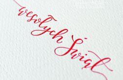 Tłoczone kartki świąteczne - zestaw 10 szt