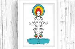 Ornament Folklorystyczny... art print