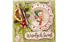 #724 - KARTKA, Boże Narodzenia, świąteczna