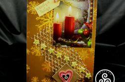 Kartka ze świecami