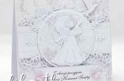 Kartka z aniołkiem na Komunię KK2005