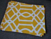 4 podkładki pod talerze Słoneczne arabeski