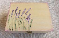 Herbaciarka malowana 6 przegródek - Lawenda