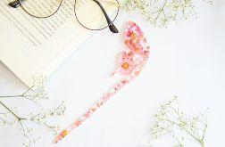 Zakładka do książki motyl - róż