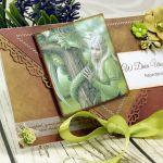 kartka urodzinowa- smoki i elfy (k7) -
