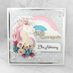 Kartka z jednorożcem Unicorn PDK 019