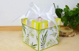 Tropikalny box z liśćmi