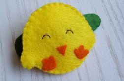Spineczka do włosów Wielkanocny Kurczaczek