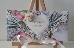 Kartka ślubna kopertowa - w dniu ślubu