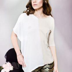 Asymetryczna bluzka