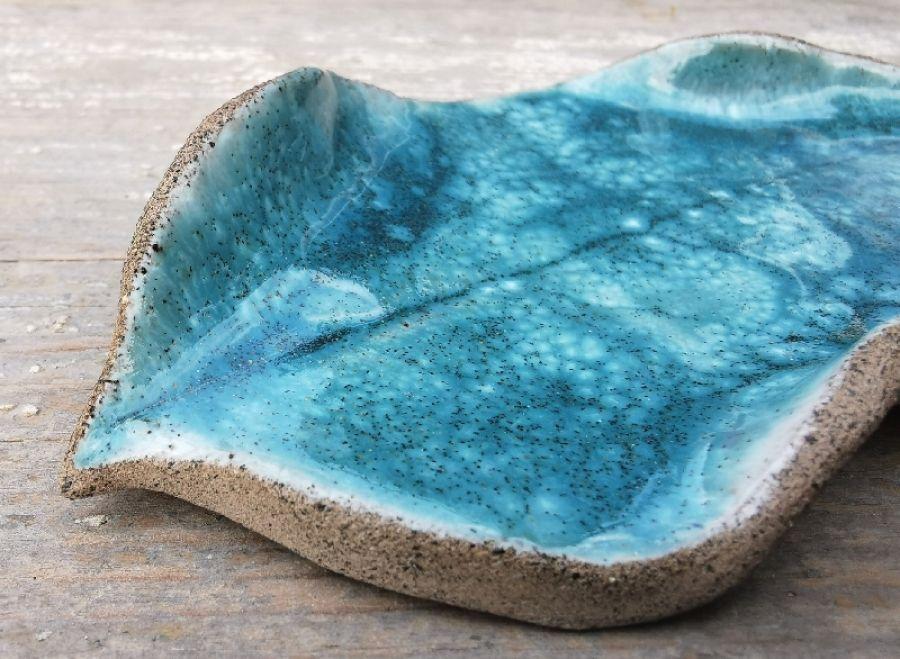 Ceramiczny listek (c8)