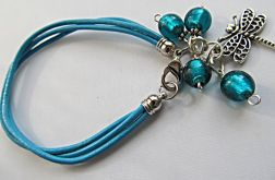bransoletka niebieska z ważką