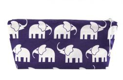 Piórnik słonie fioletowe