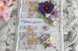 Kartka ślubna A6 w kopercie 3D 02