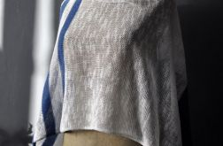 letni szal bawełna len 140 cm