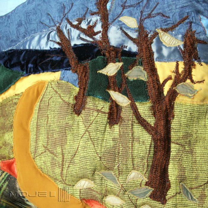 Ostatni okruch jesieni - różne tkaniny