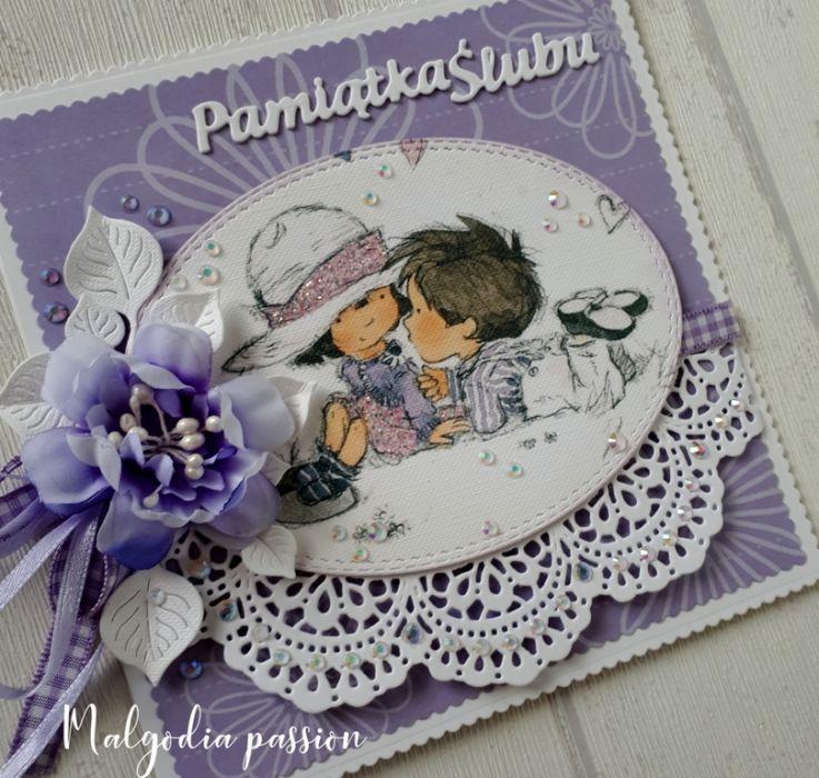 Kartka ślubna na wesoło :) :) :)