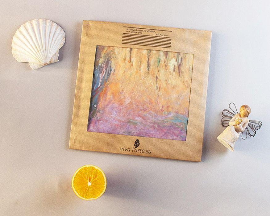 Szal - Lilie wodne, Monet