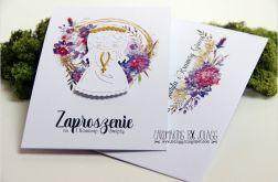 Zaproszenie na komunię-dziewczynka 2-koperta