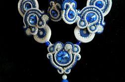 Sutasz kolia i kolczyki biżuteria artystyczna