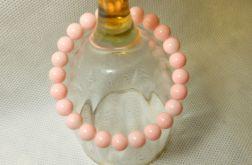 81.Bransoletka ze szklanych koralików 8mm