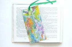 Kolorowa zakładka do książki nr1