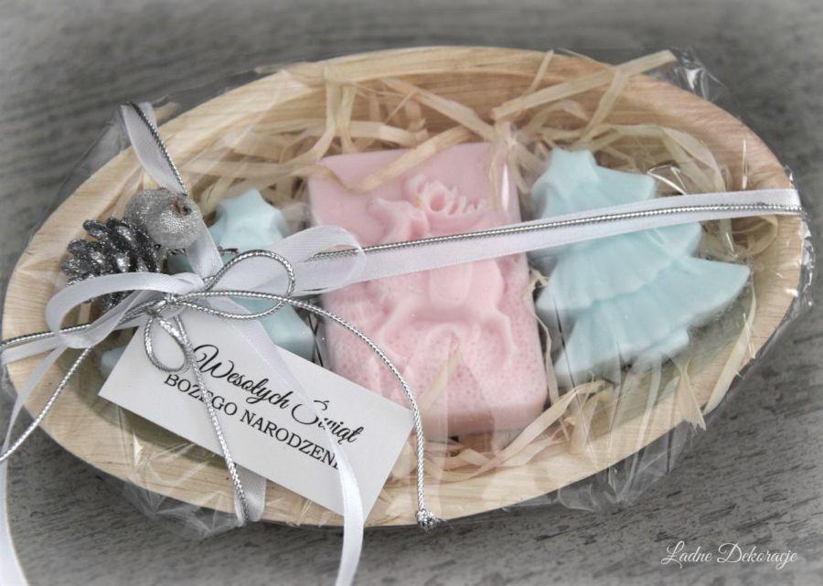 Świąteczny zestaw mydełek z nutą pierniczka -